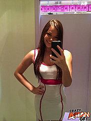Alison Rey Taking Selfie Long Hair