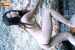 Chelsea Nude Against Rock